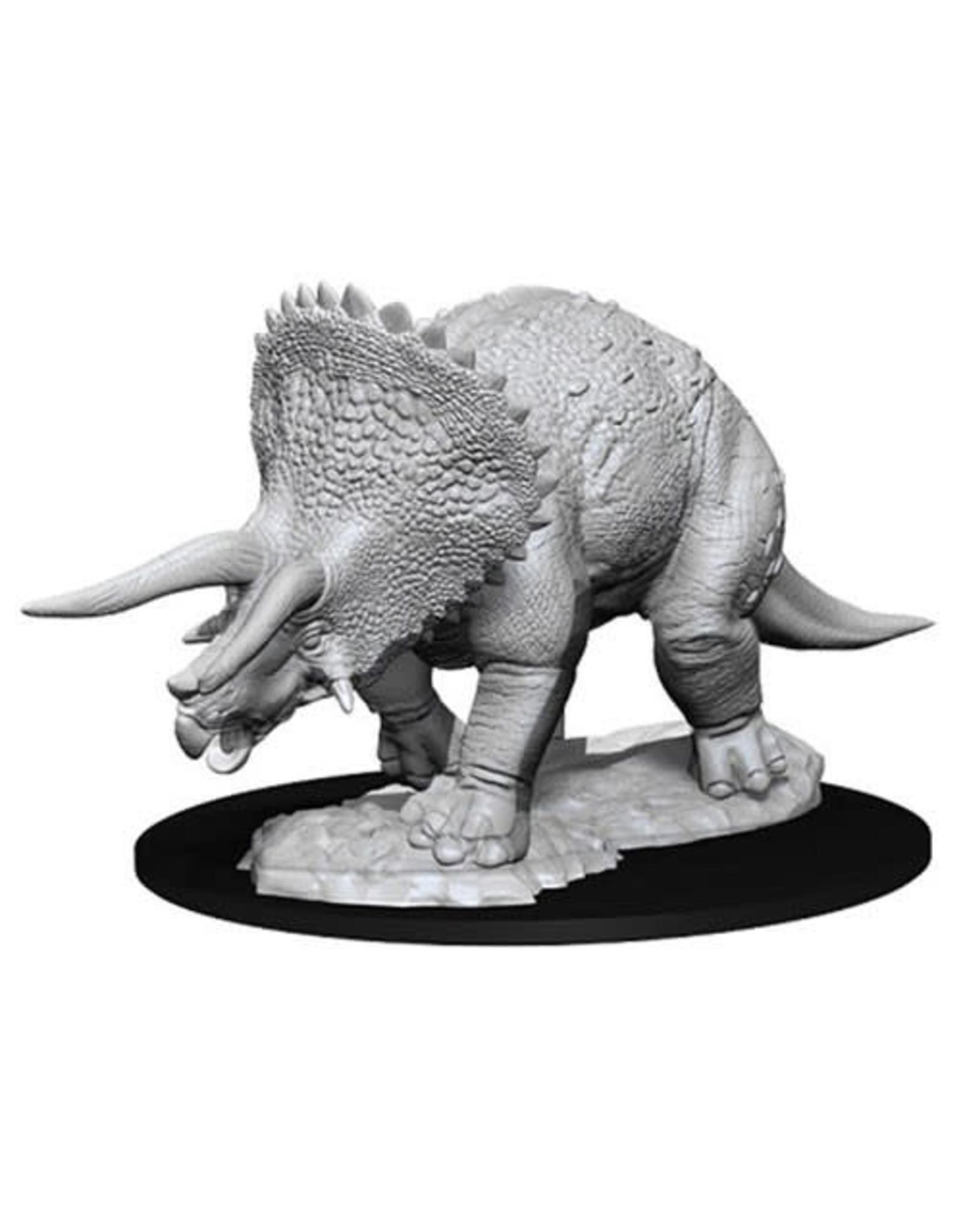 WizKids Dungeons & Dragons Nolzur`s Marvelous Unpainted Miniatures: W7 Triceratops