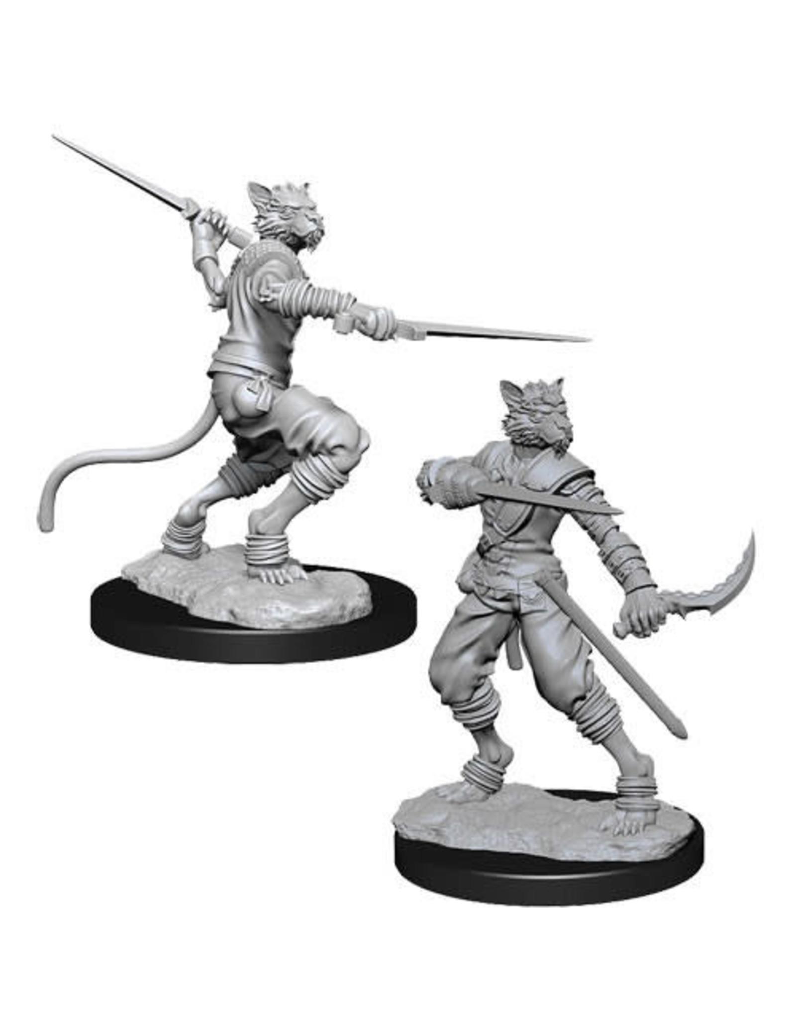 WizKids Dungeons & Dragons Nolzur`s Marvelous Unpainted Miniatures: W7 Tabaxi Male Rogue