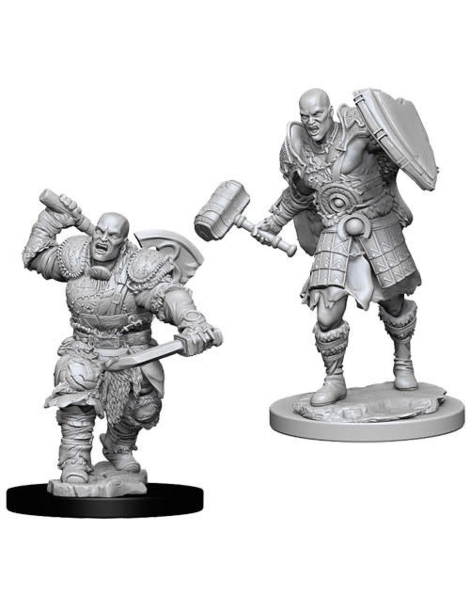 WizKids Dungeons & Dragons Nolzur`s Marvelous Unpainted Miniatures: W7 Male Goliath Fighter
