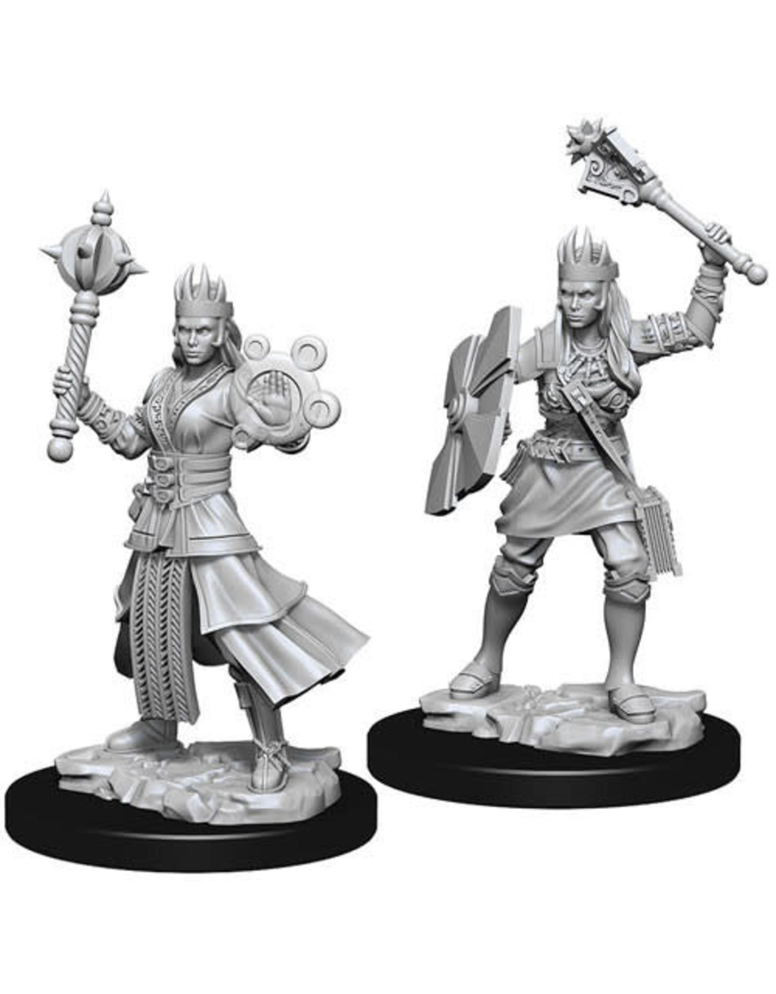 WizKids Dungeons & Dragons Nolzur`s Marvelous Unpainted Miniatures: W8 Female Human Cleric