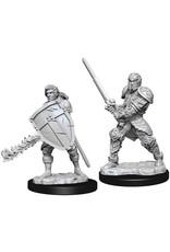 WizKids Dungeons & Dragons Nolzur`s Marvelous Unpainted Miniatures: W8 Male Human Fighter