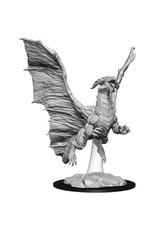 WizKids Dungeons & Dragons Nolzur`s Marvelous Unpainted Miniatures: W8 Young Copper Dragon