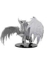 WizKids Pathfinder Deep Cuts Unpainted Miniatures: Gargantuan Red Dragon
