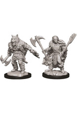WizKids Dungeons & Dragons Nolzur`s Marvelous Unpainted Miniatures: W9 Male Half-Orc Barbarian