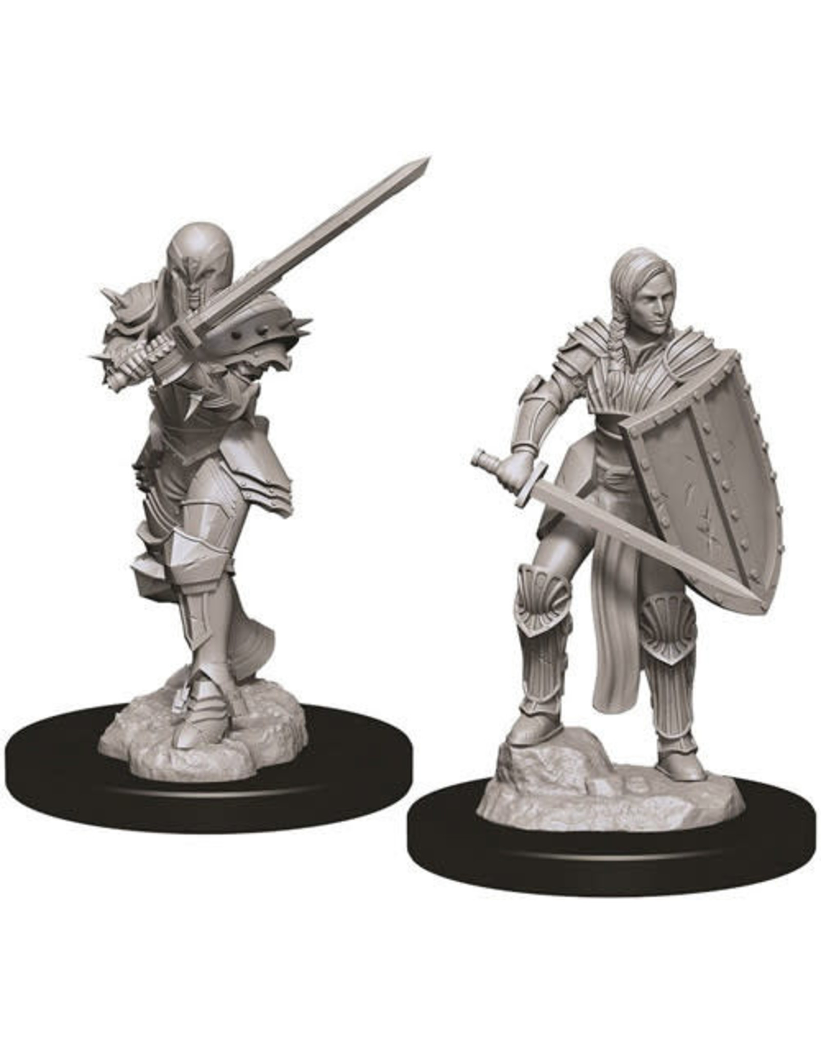 WizKids Dungeons & Dragons Nolzur`s Marvelous Unpainted Miniatures: W9 Female Human Fighter