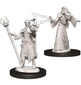 WizKids Dungeons & Dragons Nolzur`s Marvelous Unpainted Miniatures: W9 Male Elf Wizard