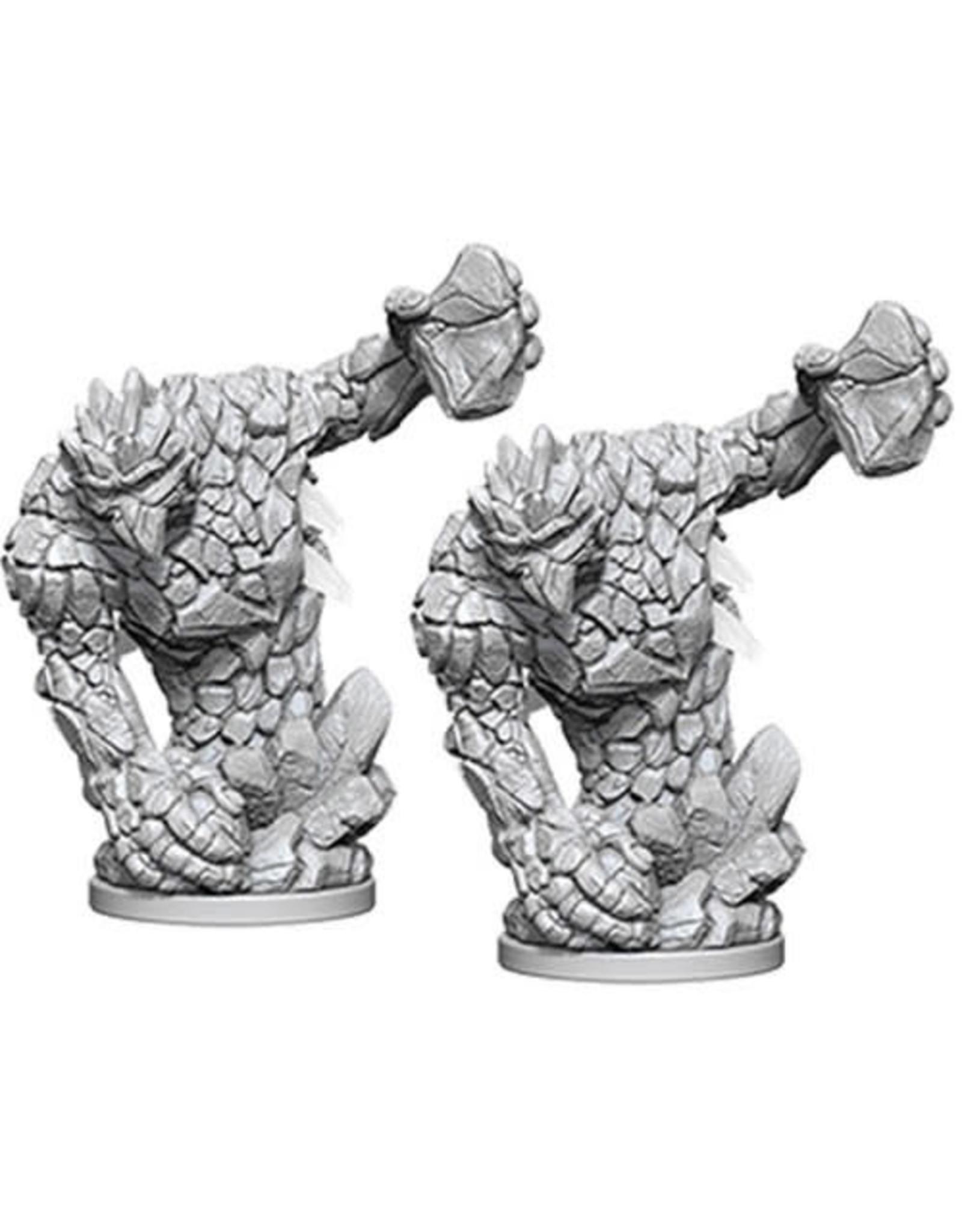 WizKids Pathfinder Deep Cuts Unpainted Miniatures: W5 Medium Earth Elemental