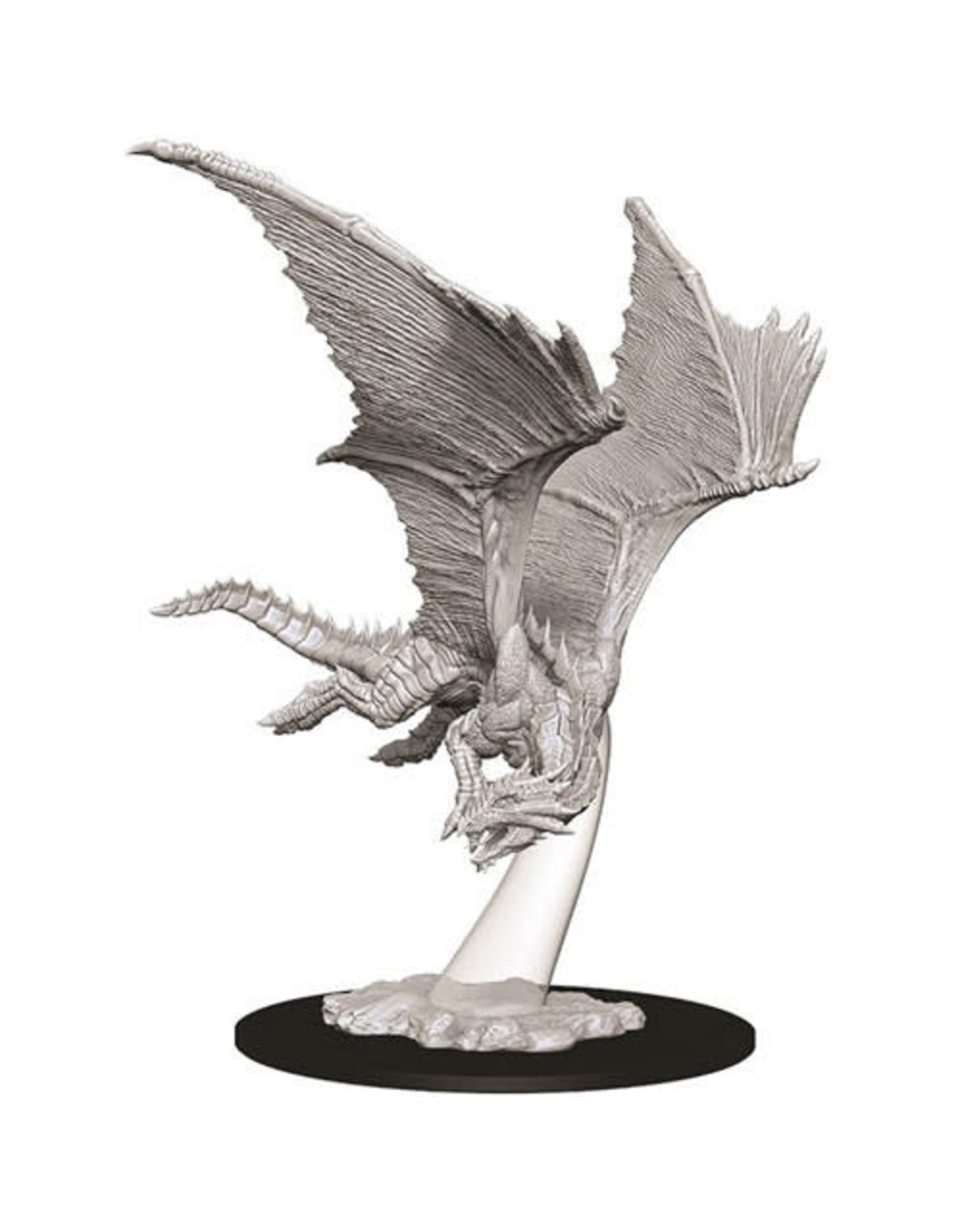 WizKids Dungeons & Dragons Nolzur`s Marvelous Unpainted Miniatures: W9 Young Bronze Dragon
