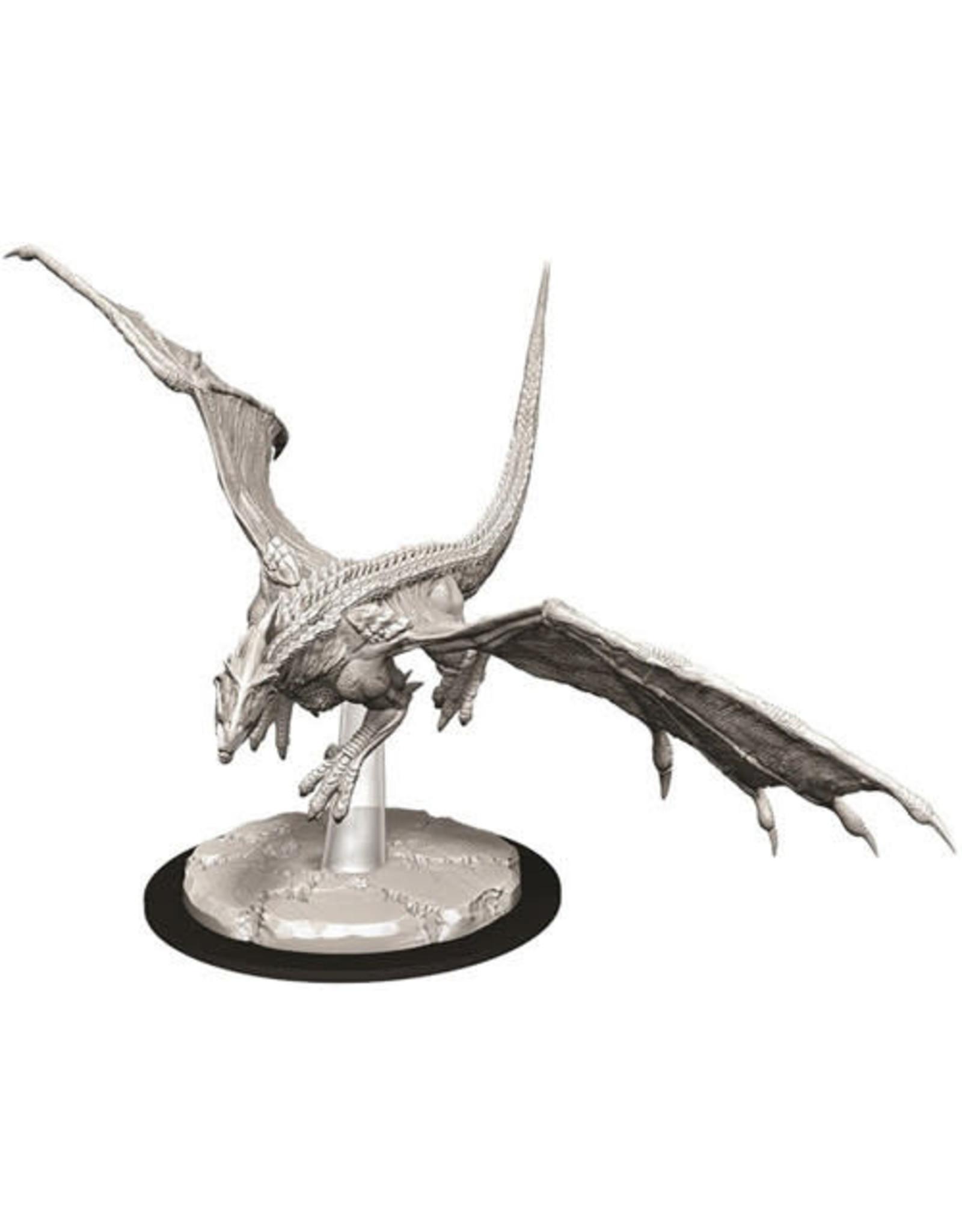 WizKids Dungeons & Dragons Nolzur`s Marvelous Unpainted Miniatures: W9 Young White Dragon