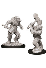 WizKids Dungeons & Dragons Nolzur`s Marvelous Unpainted Miniatures: W9 Wereboar & Werebear