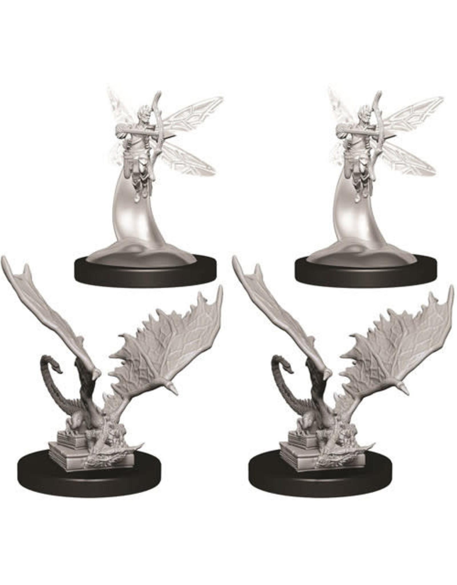WizKids Dungeons & Dragons Nolzur`s Marvelous Unpainted Miniatures: W9 Sprite & Pseudodragon