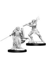 WizKids Dungeons & Dragons Nolzur`s Marvelous Unpainted Miniatures: W10 Female Human Paladin
