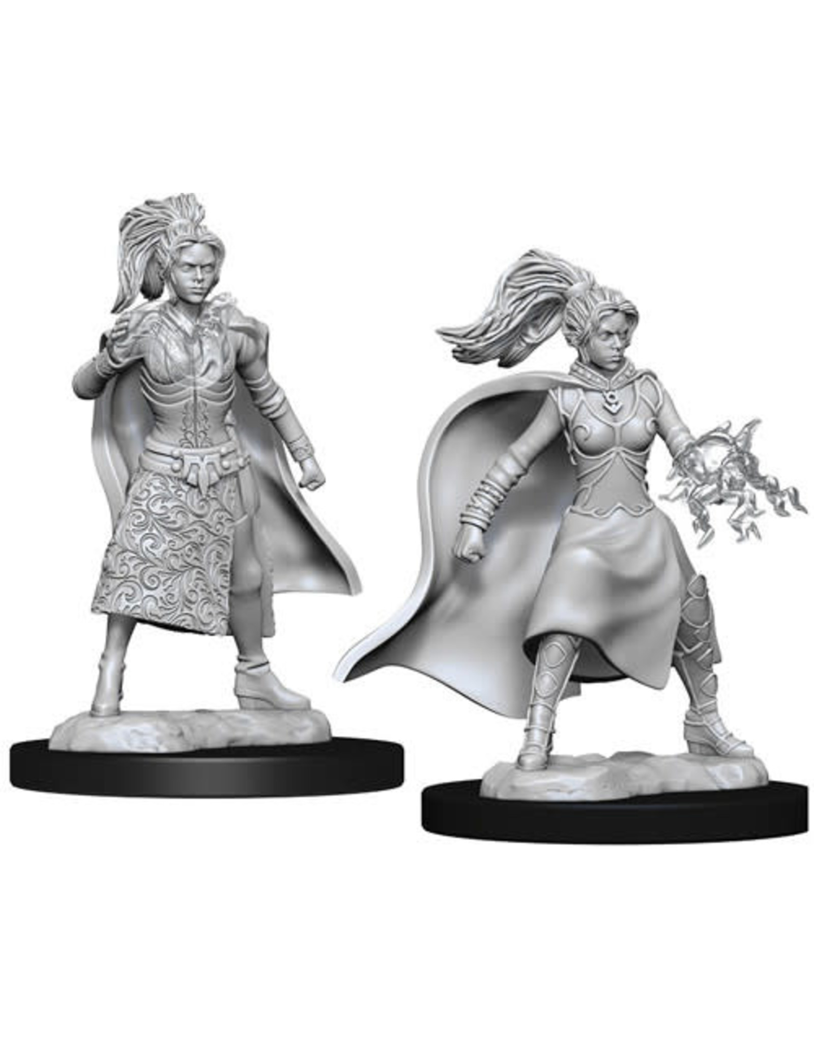 WizKids Dungeons & Dragons Nolzur`s Marvelous Unpainted Miniatures: W10 Female Human Sorcerer