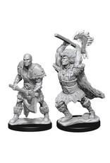 WizKids Dungeons & Dragons Nolzur`s Marvelous Unpainted Miniatures: W10 Male Goliath Barbarian