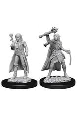 WizKids Dungeons & Dragons Nolzur`s Marvelous Unpainted Miniatures: W10 Female Elf Cleric