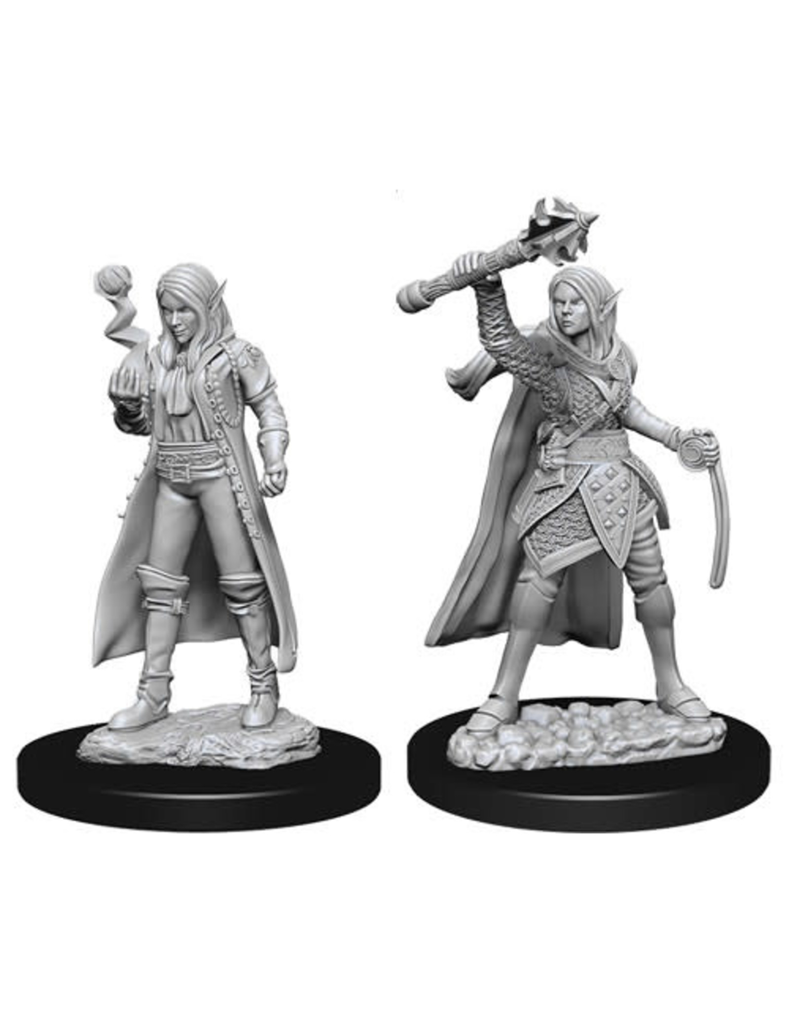 WizKids Dungeons & Dragons Nolzur`s Marvelous Unpainted Miniatures: W10 Female Elf Cleric