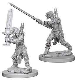 WizKids Pathfinder Deep Cuts Unpainted Miniatures: W6 Human Female Barbarian