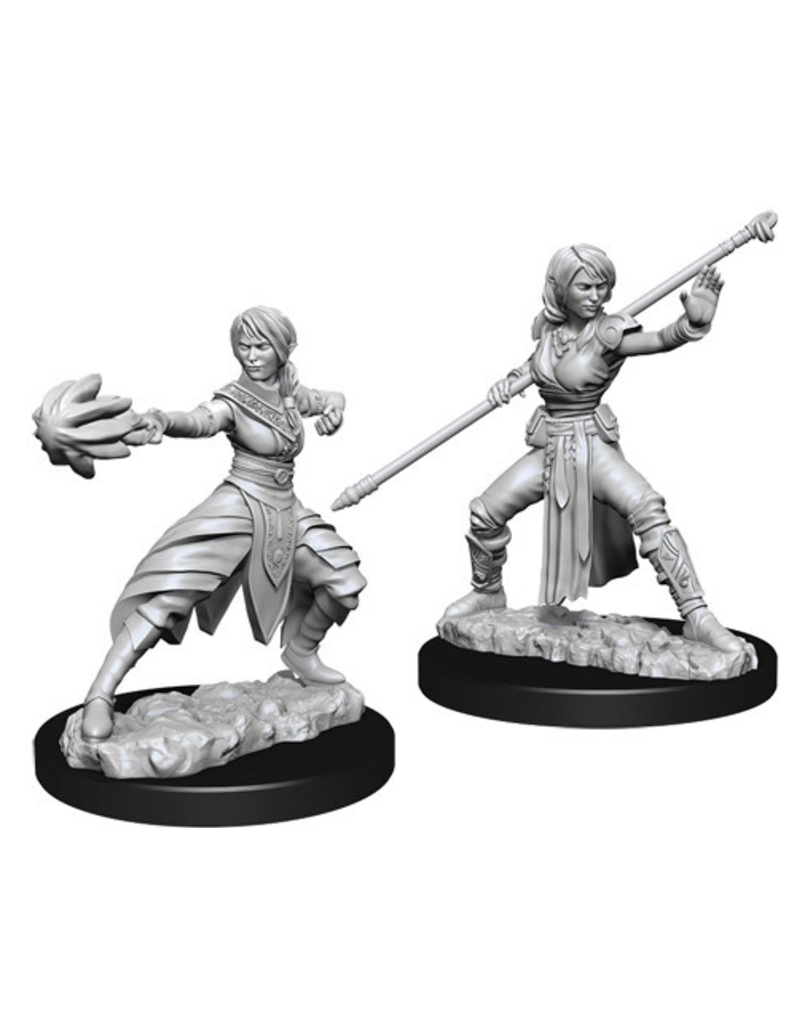 WizKids Dungeons & Dragons Nolzur`s Marvelous Unpainted Miniatures: W10 Female Half-Elf Monk
