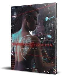 Renegade Game Studios Altered Carbon RPG: Core Rulebook Hardcover
