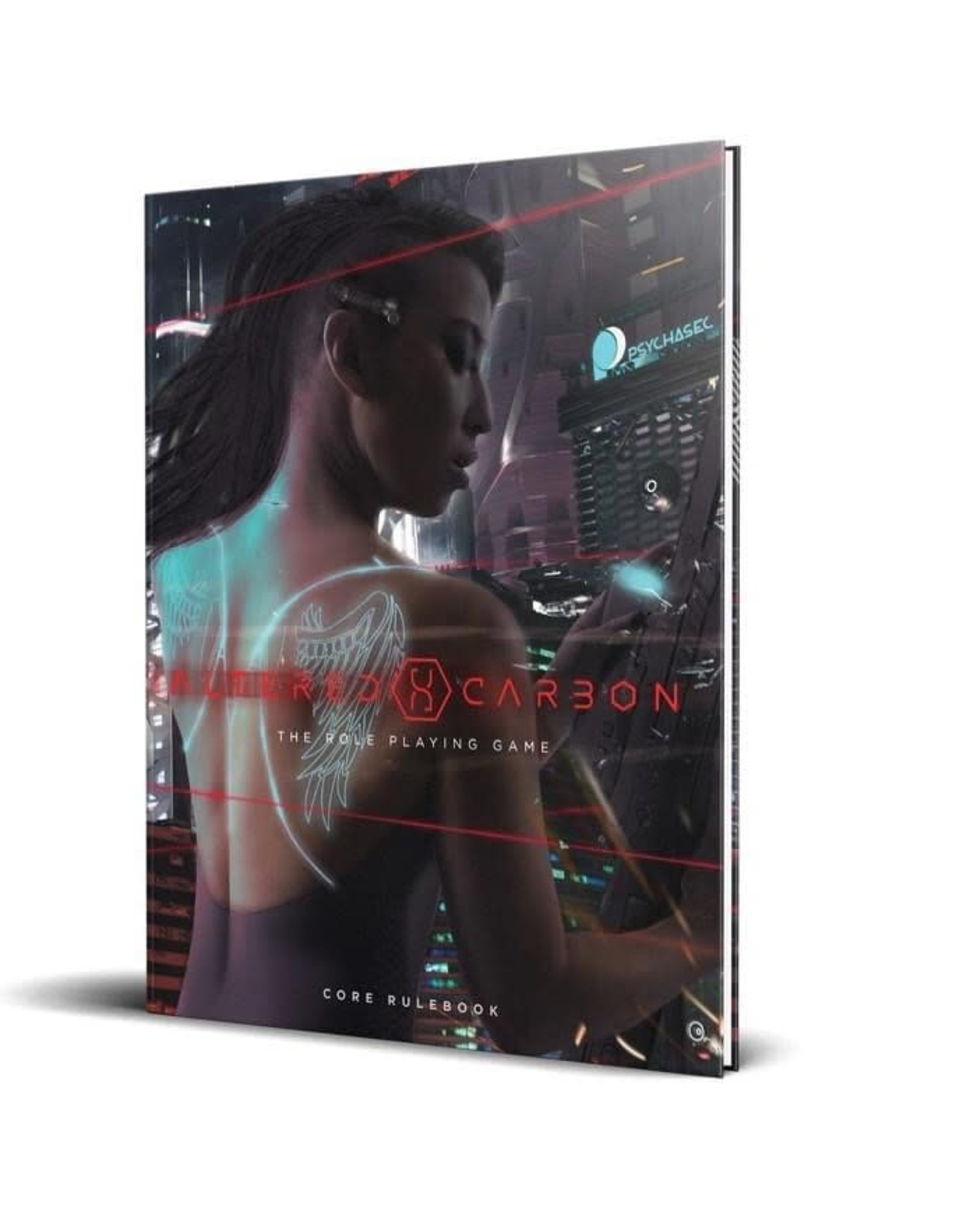 Renegade Game Studios Altered Carbon RPG: Core Rulebook Hardcover (Limited Edition Bundle)