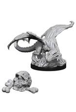 WizKids Dungeons & Dragons Nolzur`s Marvelous Unpainted Miniatures: W10 Black Dragon Wyrmling