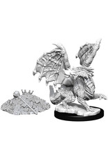 WizKids Dungeons & Dragons Nolzur`s Marvelous Unpainted Miniatures: W10 Red Dragon Wyrmling
