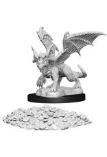 WizKids Dungeons & Dragons Nolzur`s Marvelous Unpainted Miniatures: W10 Blue Dragon Wyrmling