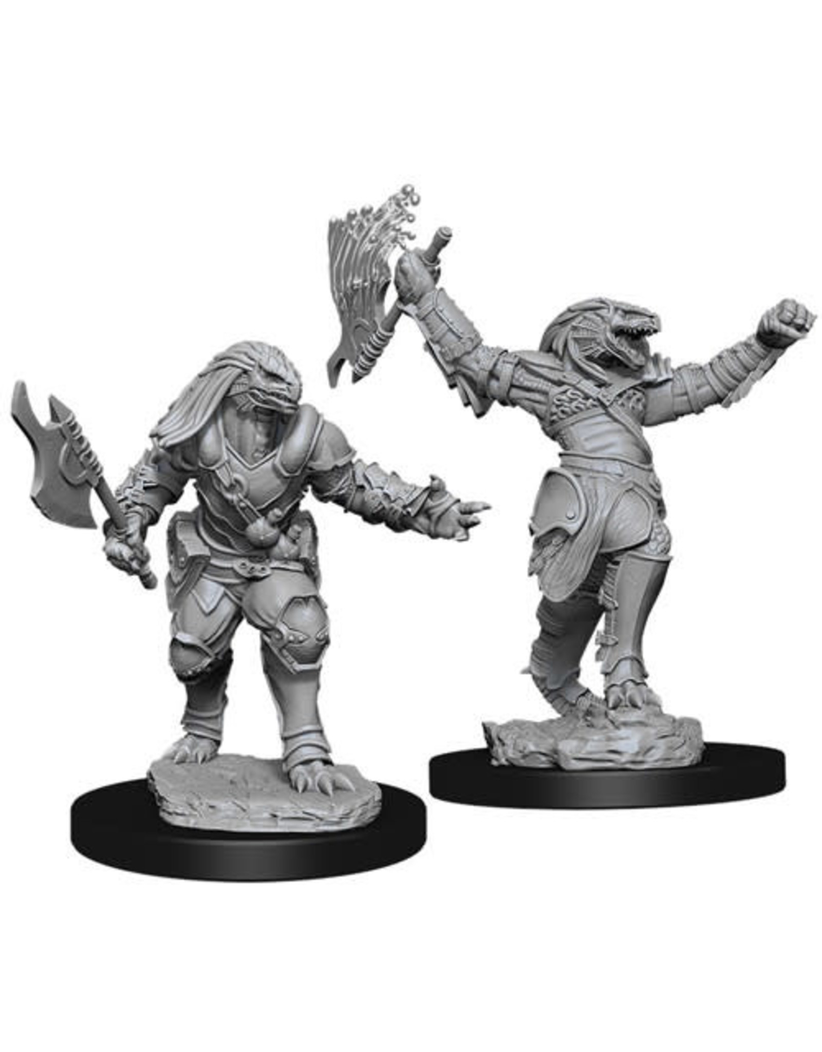 WizKids Dungeons & Dragons Nolzur`s Marvelous Unpainted Miniatures: W11 Female Dragonborn Fighter