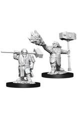 WizKids Dungeons & Dragons Nolzur`s Marvelous Unpainted Miniatures: W11 Male Dwarf Cleric