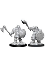 WizKids Dungeons & Dragons Nolzur`s Marvelous Unpainted Miniatures: W11 Male Dwarf Fighter