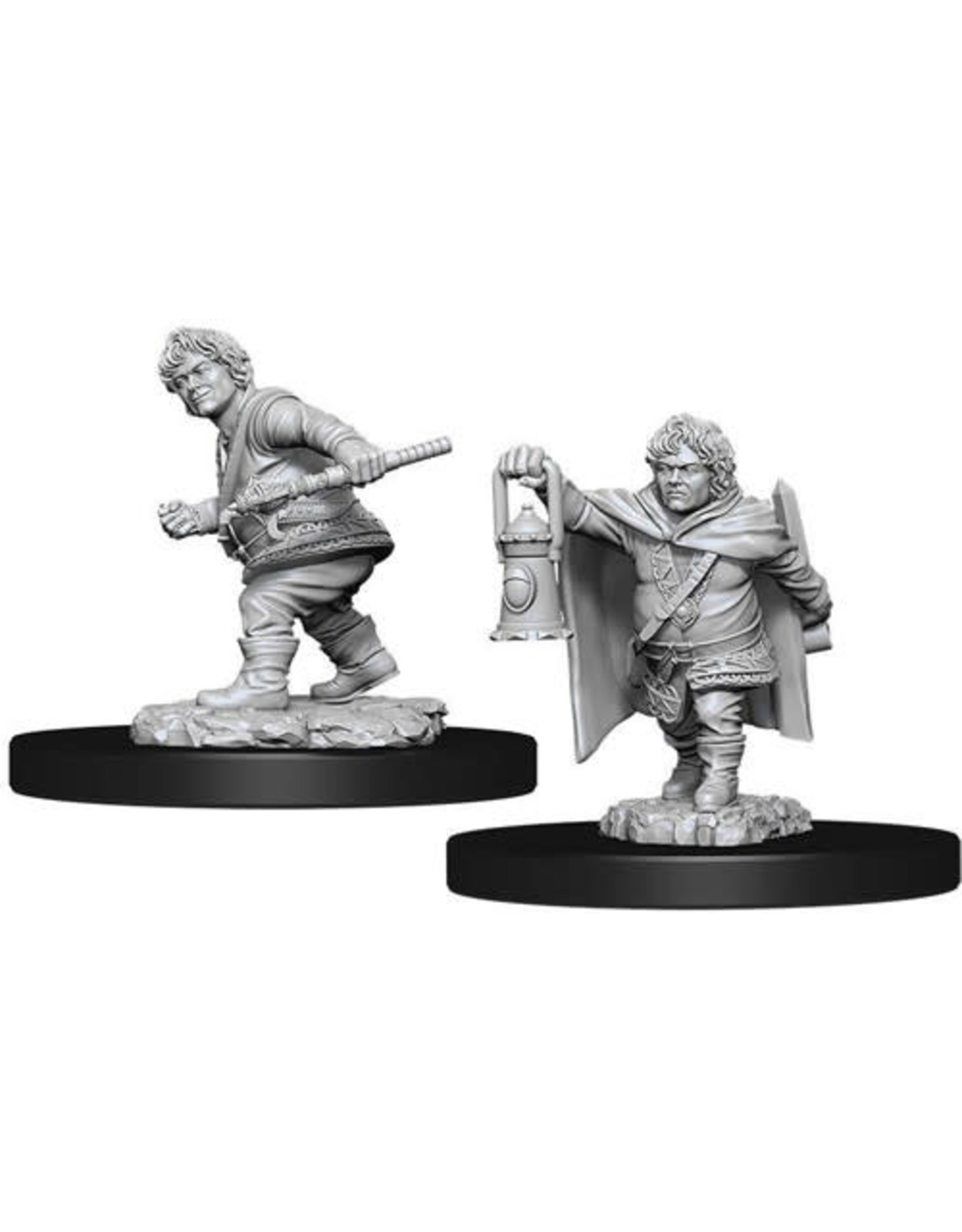 WizKids Dungeons & Dragons Nolzur`s Marvelous Unpainted Miniatures: W11 Male Halfling Rogue
