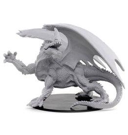 WizKids Pathfinder Deep Cuts Unpainted Miniatures: Gargantuan Green Dragon