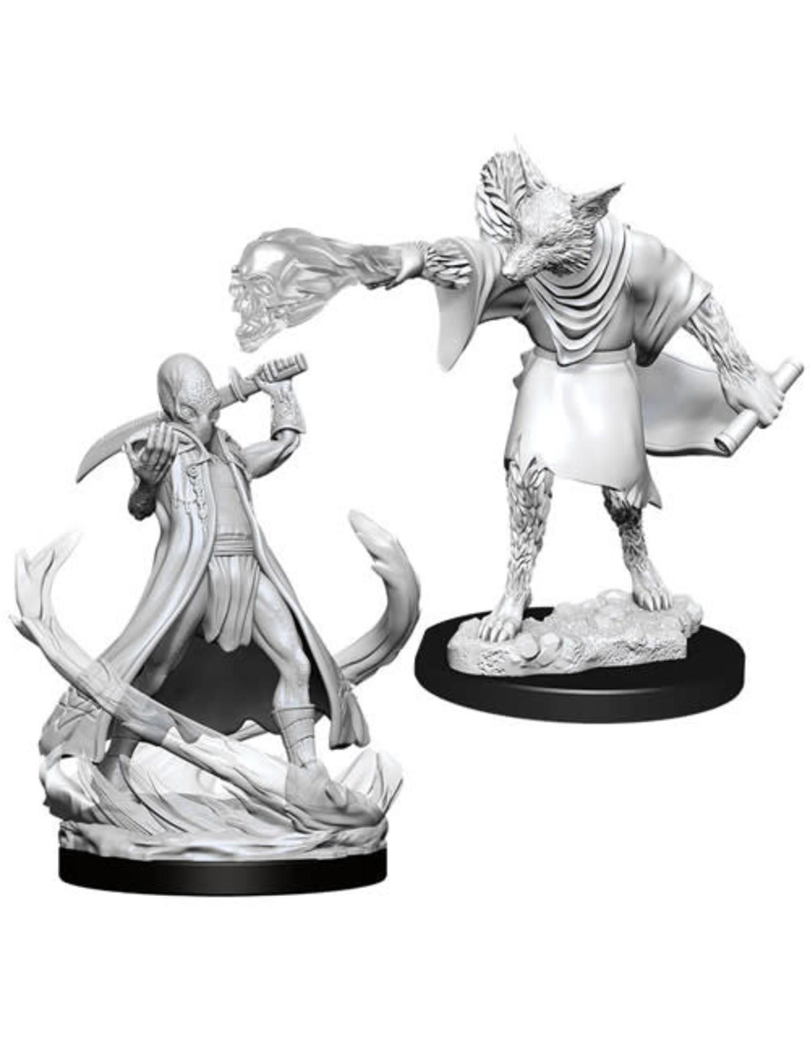 WizKids Dungeons & Dragons Nolzur`s Marvelous Unpainted Miniatures: W11 Arcanaloth & Ultroloth