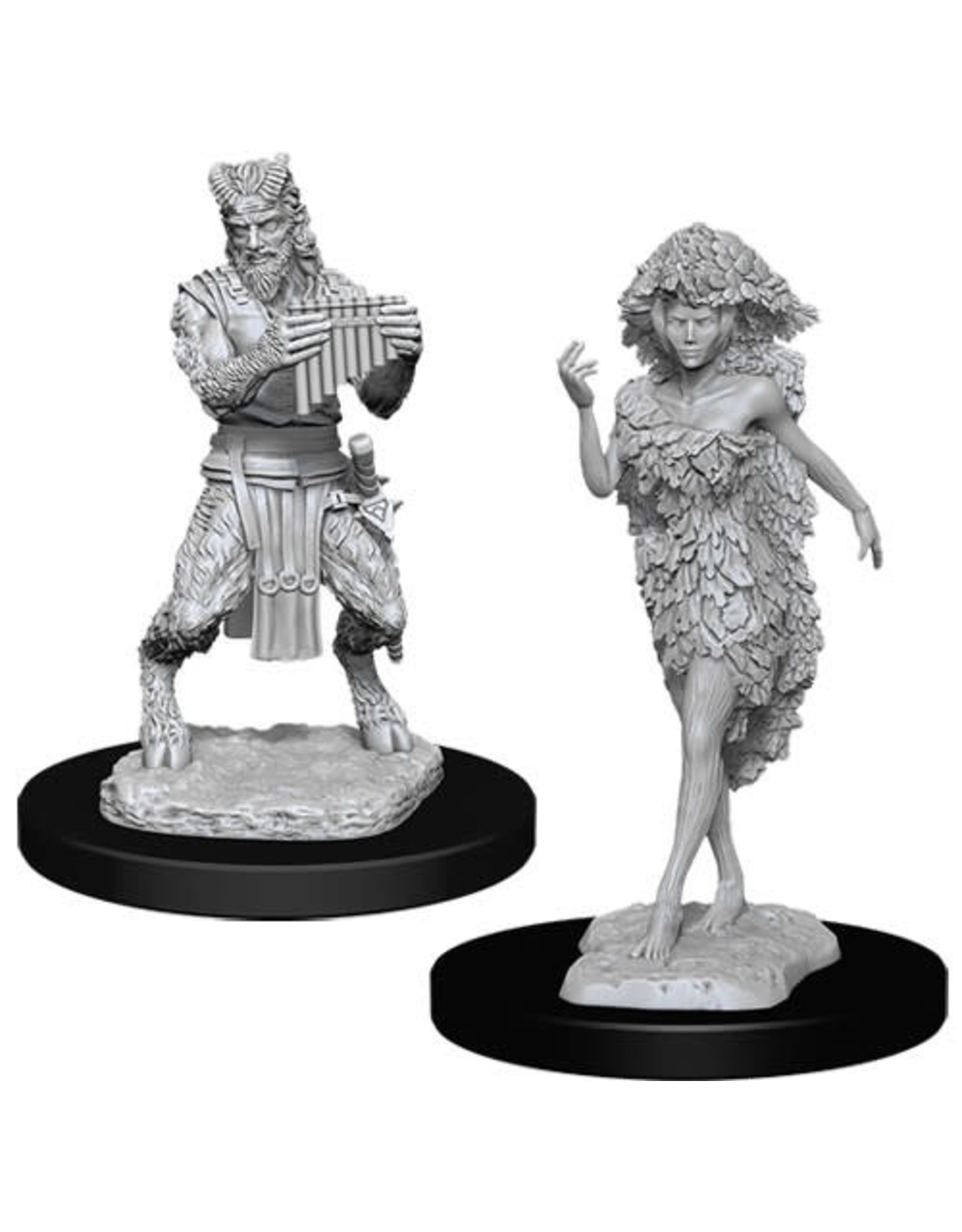 Wizards of the Coast Dungeons & Dragons Nolzur`s Marvelous Unpainted Miniatures: W11 Satyr & Dryad