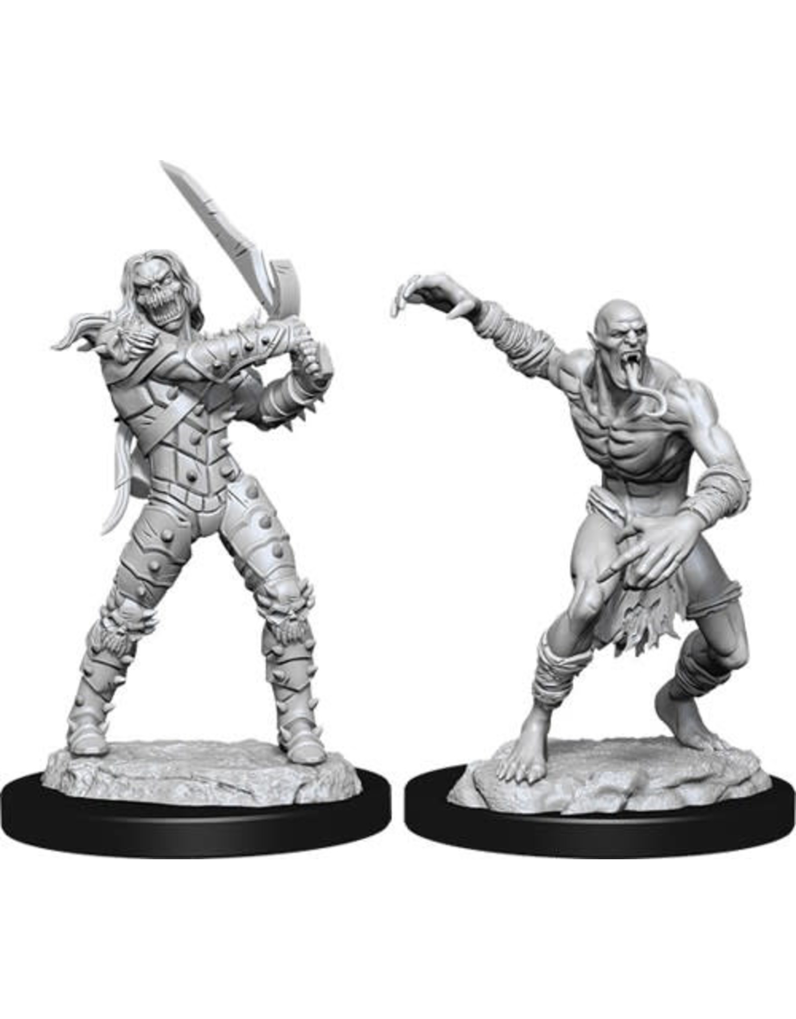 WizKids Dungeons & Dragons Nolzur`s Marvelous Unpainted Miniatures: W11 Wight & Ghast