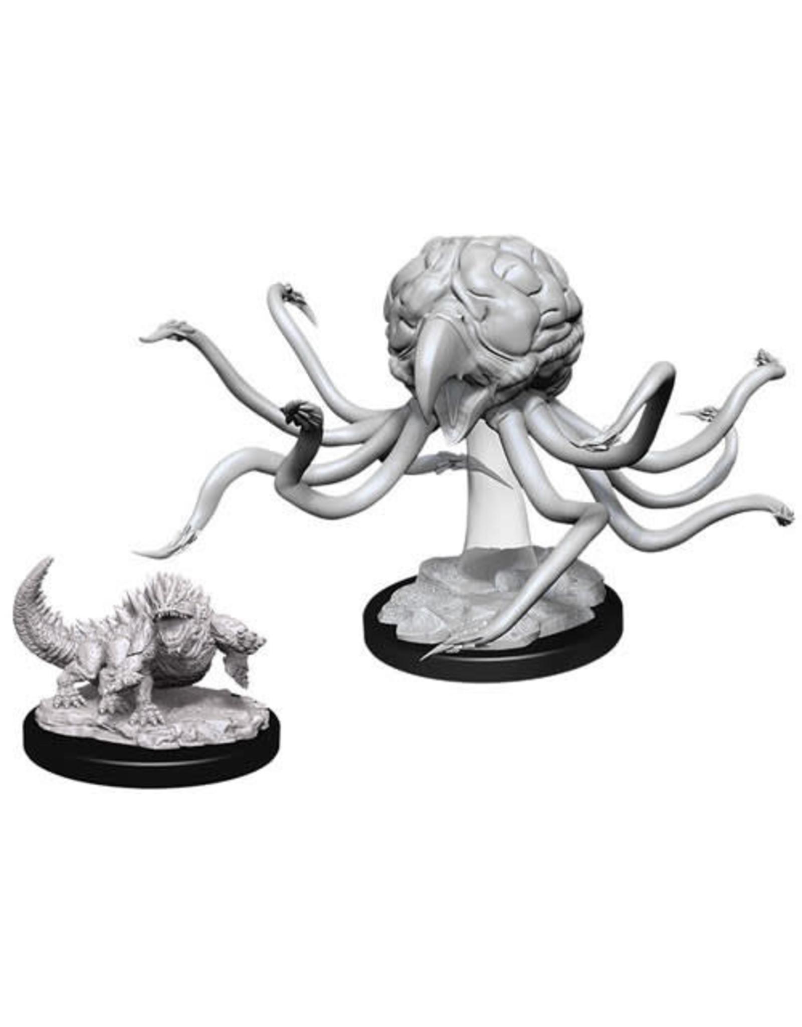 WizKids Dungeons & Dragons Nolzur`s Marvelous Unpainted Miniatures: W11 Grell & Basilisk