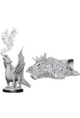WizKids Dungeons & Dragons Nolzur`s Marvelous Unpainted Miniatures: W11 Gold Dragon Wyrmling & Small Treasure Pile