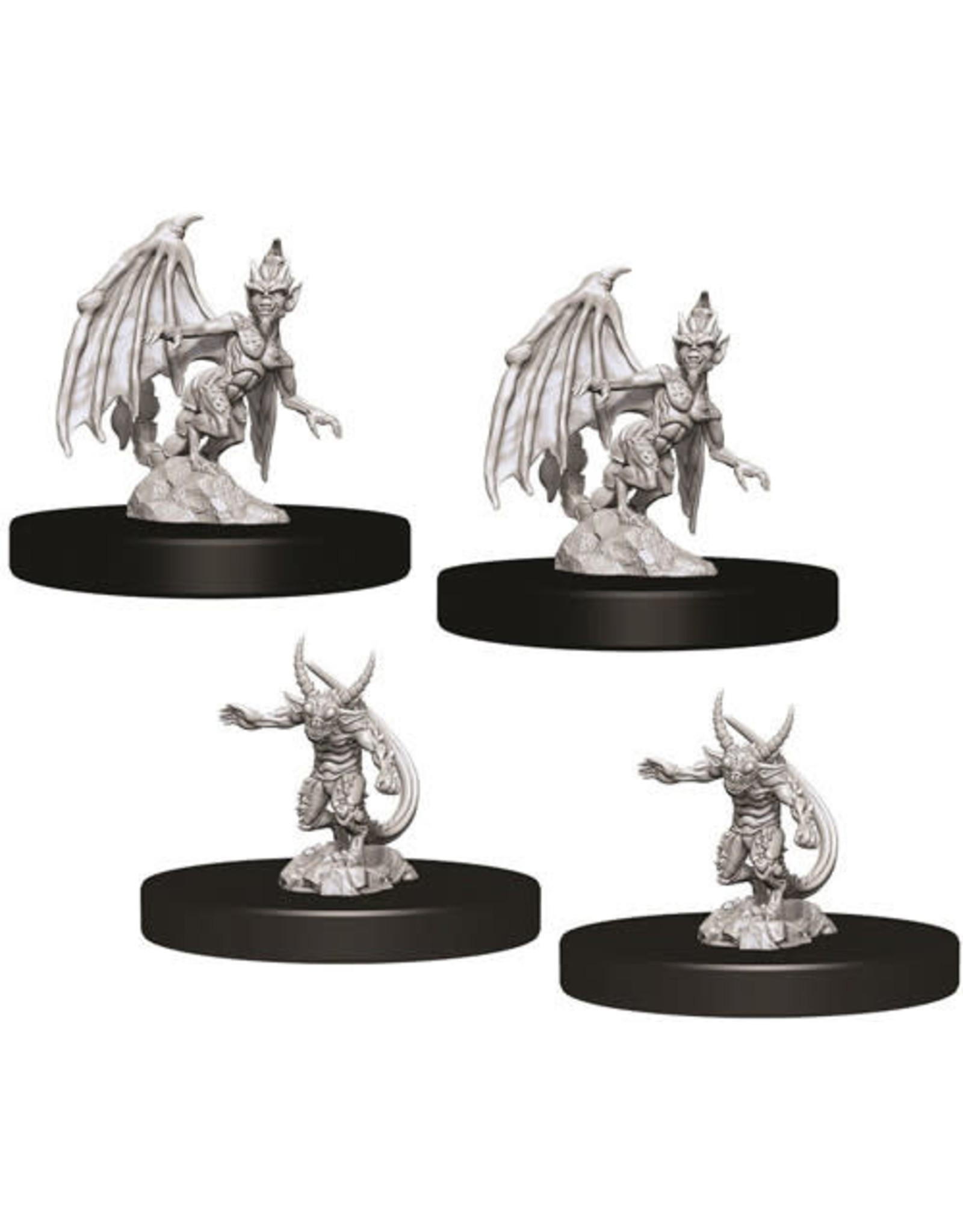WizKids Dungeons & Dragons Nolzur's Marvelous Unpainted Miniatures: W9 Quasit & Imp