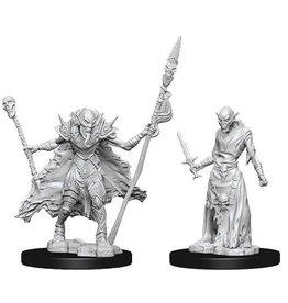 WizKids Pathfinder Deep Cuts Unpainted Miniatures: W7 Ghouls