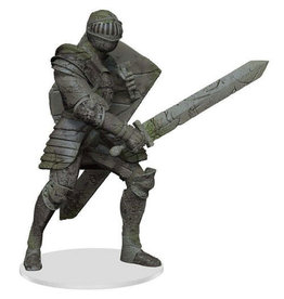 WizKids Dungeons & Dragons Fantasy Miniatures: Icons of the Realm Walking Statue of Waterdeep The Honorable Knight