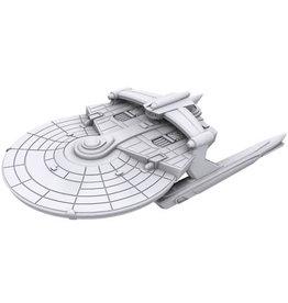 WizKids Star Trek Deep Cuts Unpainted Ships: Miranda Class