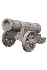 WizKids WizKids Deep Cuts Unpainted Miniatures: W9 Large Cannon