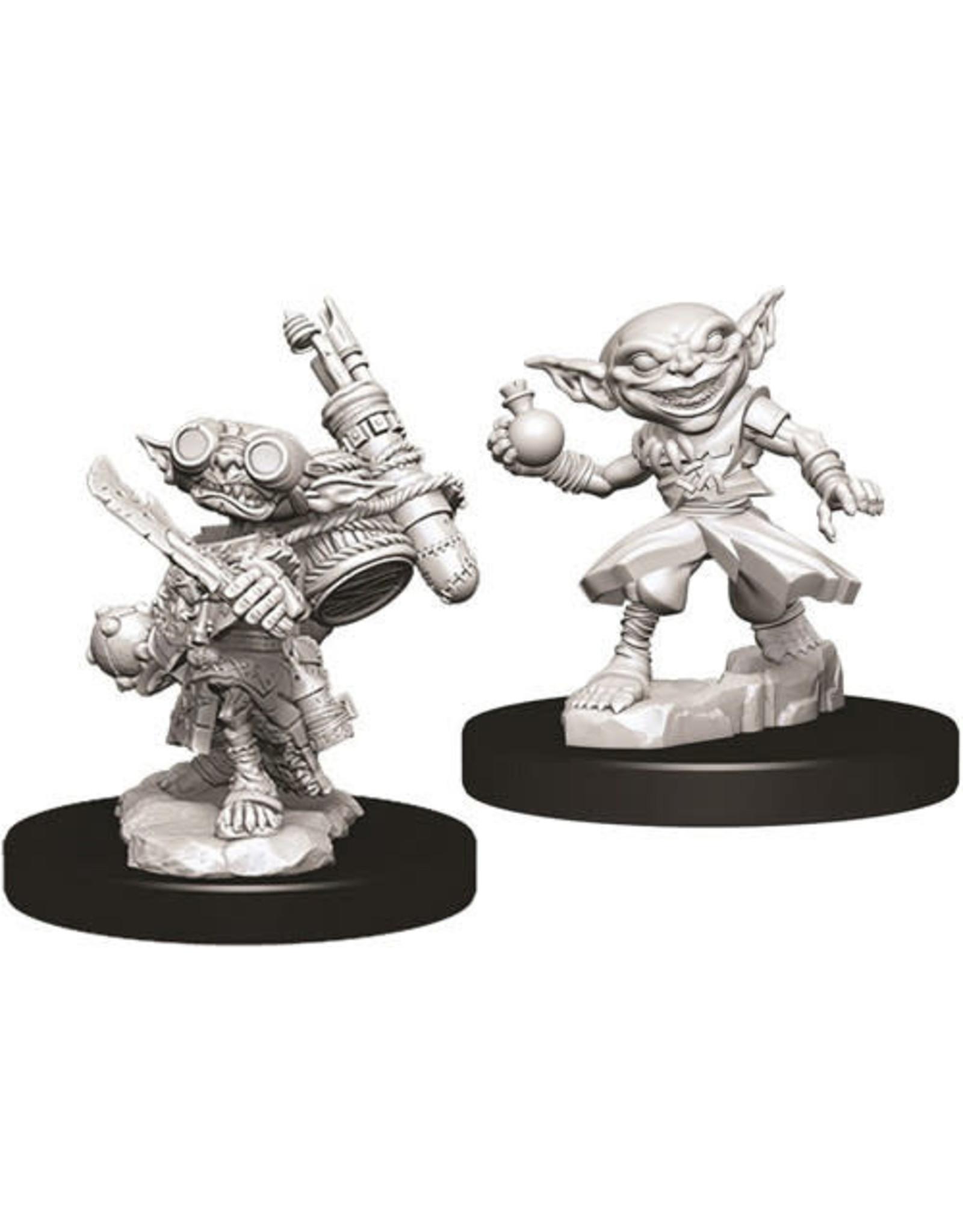 WizKids Pathfinder Deep Cuts Unpainted Miniatures: W9 Male Goblin Alchemist