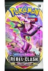 The Pokemon Company Pokemon TCG: Sword & Shield - Rebel Clash Booster Pack