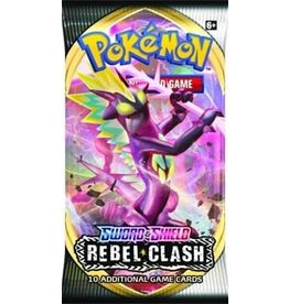 The Pokemon Company Pokemon TCG: Sword & Shield - Rebel Clash Booster Pack