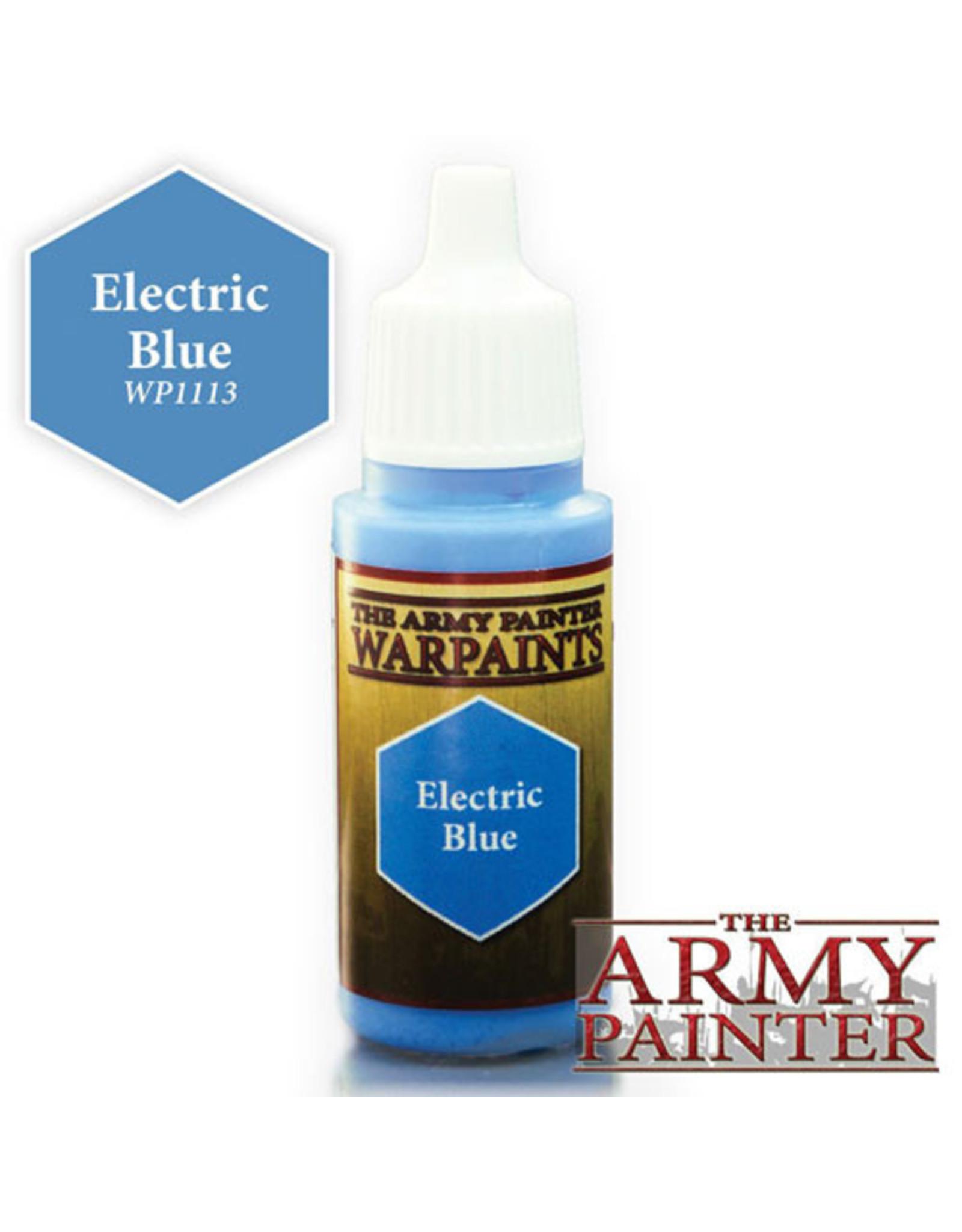 TAP Warpaints: Electric Blue 18ml