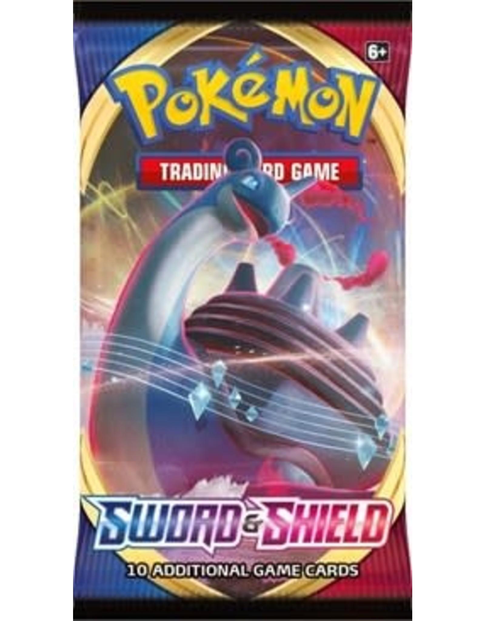The Pokemon Company Pokemon TCG: Sword & Shield Booster Pack