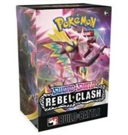 The Pokemon Company Pokemon TCG: Sword & Shield - Rebel Clash Build and Battle Box