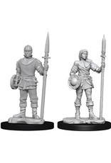 WizKids WizKids Deep Cuts Unpainted Miniatures: W10 Guards