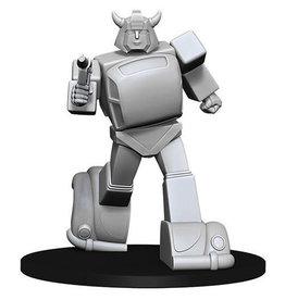 WizKids Transformers Deep Cuts Unpainted Miniatures: Bumblebee